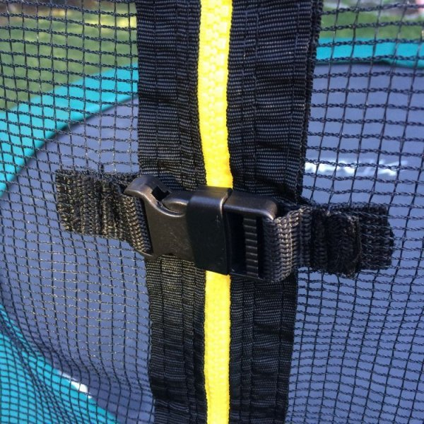 Siatka ochronna zewnętrzna trampolina 305cm 10ft/8