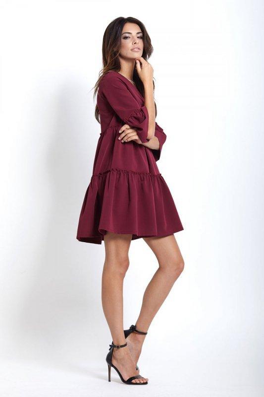 Sukienka Greta - Bordo - Ivon