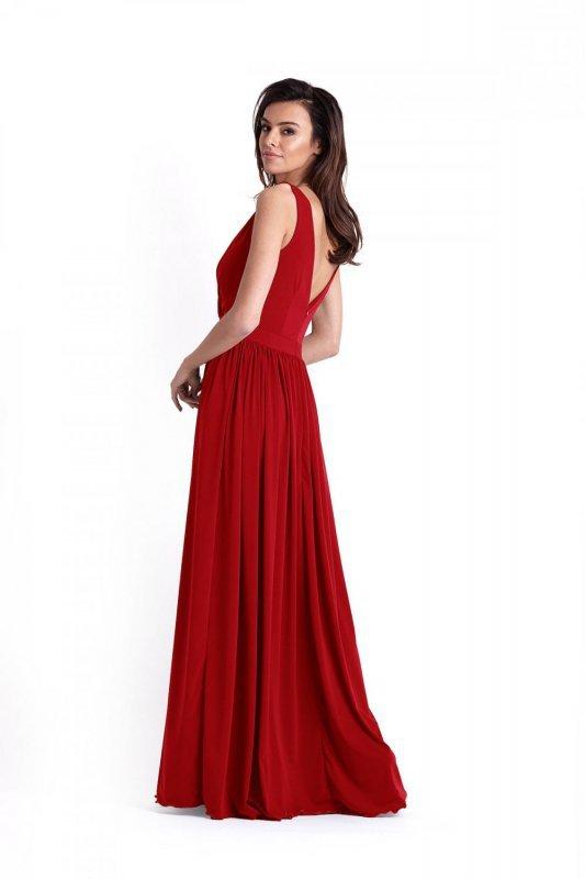 Wieczorowa sukienka Philippa - Bordo - Ivon