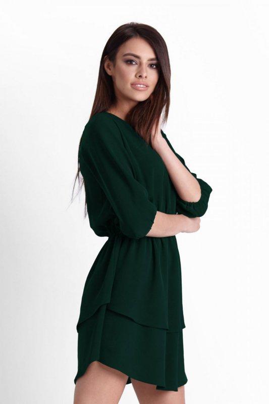 Sukienka Lucinda - Zielona - Ivon