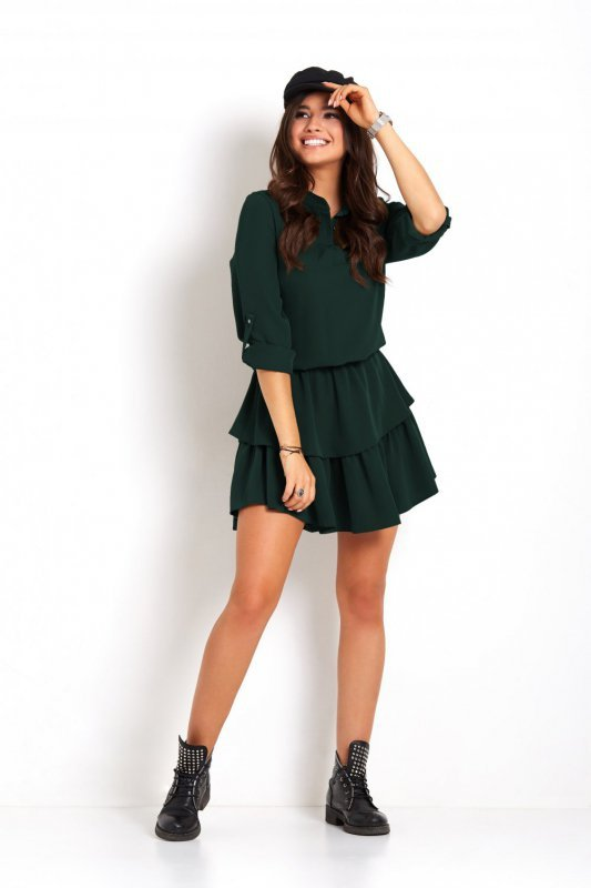 Sukienka Kylie - Zielona - StreetStyle 694