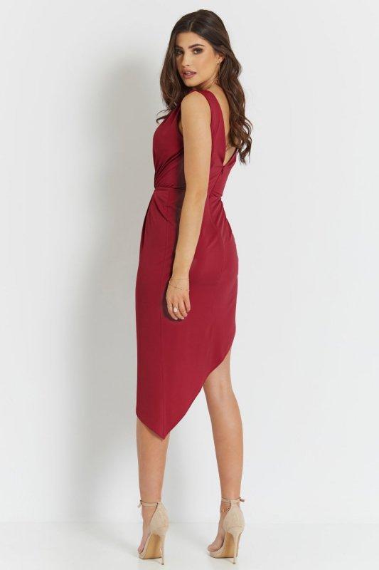 Sukienka Gaja - Czerwona