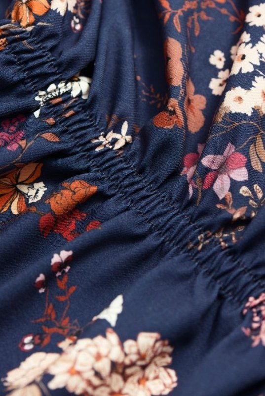 Sukienka Malvina - kwiatowy print