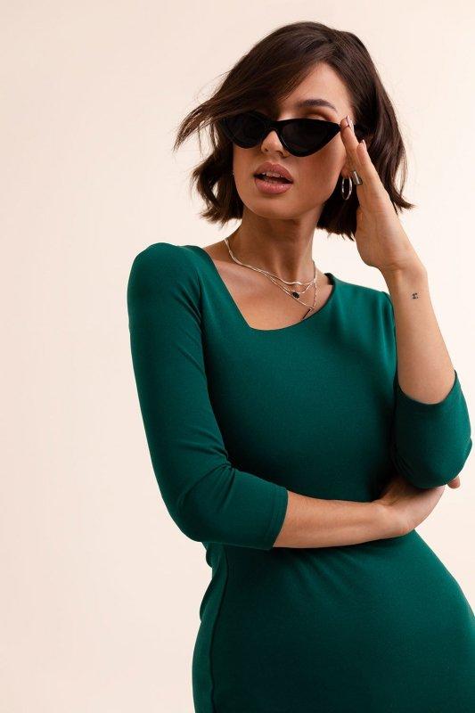 Sukienka Bambi - Zielona - 3