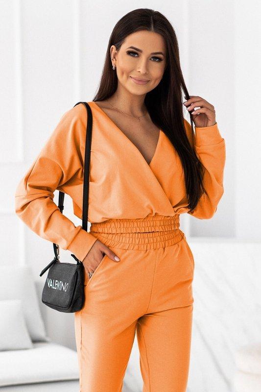 Komplet dresowy Perfect - Pomarańcz - od StreetStyle - 3
