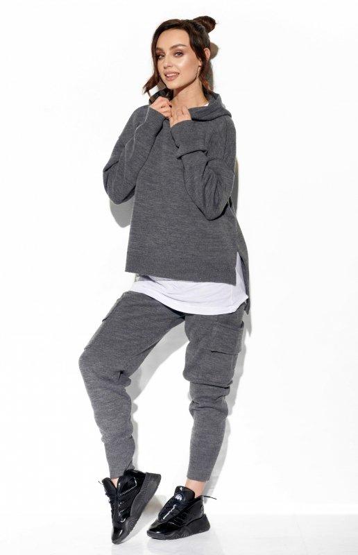 Modny komplet swetrowy z bojówkami - StreetStyle  LSG123