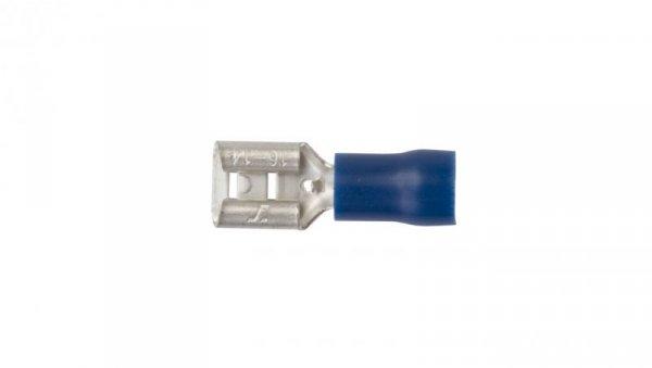 Nasuwka izolowana NI 6,3-2,5/0,8 PCV E10KN-03010103501 (100szt.)