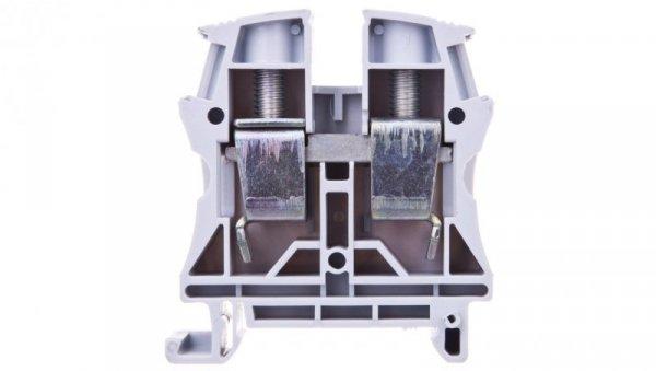 Złączka szynowa 2-przewodowa 35mm2 szara 037165