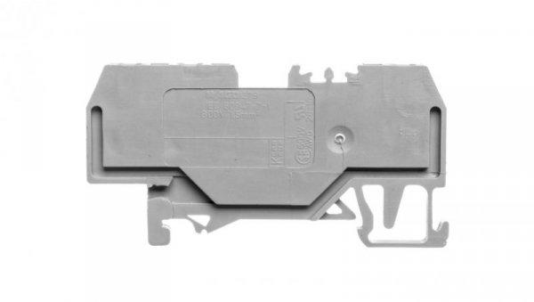Złączka szynowa 3-przewodowa 1,5mm2 szara 279-681