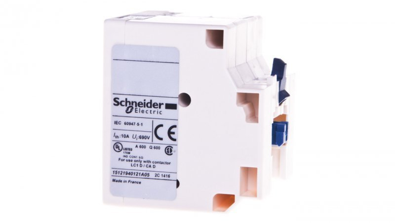 SCHNEIDER Blok styków zatrzaskowych 24V AC/DC LAD6K10B