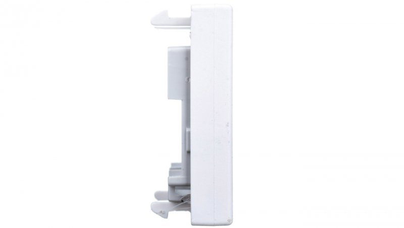 KONTAKT Simon Connect Płytka K45 gniazda teleinformatycznego pojedynczego RJ płaska czysta biel K076/9