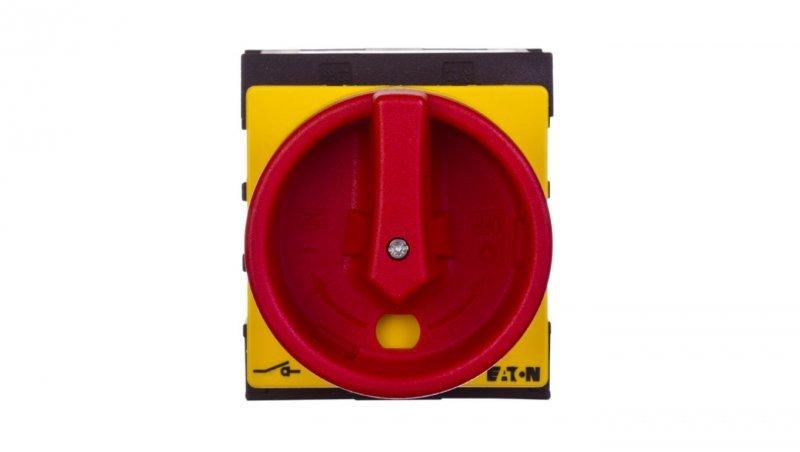 Łącznik krzywkowy 0-1 3P+N 25A 1Z 1R do wbudowania P1-25/EA/SVB/N/HI11 048367