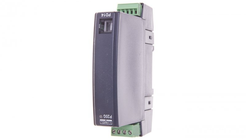 Programowalny separator / przetowornik wejście 4-20mA wyjście 4-20mA zasilanie 85-253V AC/DC P20G 1111100P0