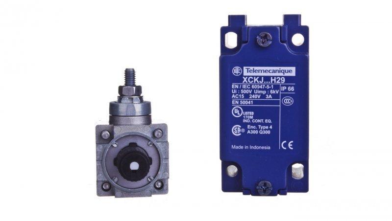SCHNEIDER Wyłącznik krańcowy 1R 1Z migowy metal dzwignia z prętem z tworzywa XCKJ10559H29