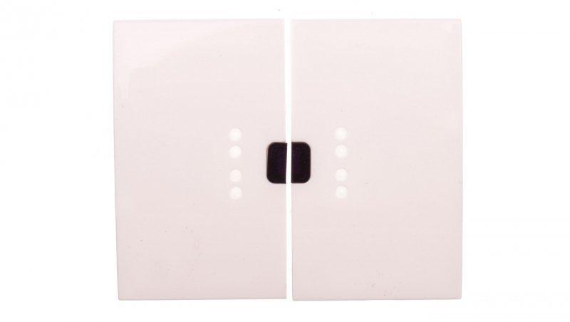 Legrand SISTENA LIFE Klawisz łącznika świecznikowego z podświetleniem arctic 771070