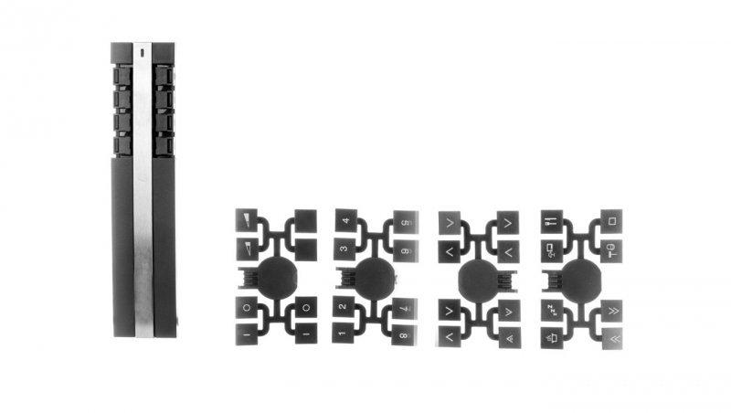 SCHNEIDER Unica Plus Pilot zdalnego sterowania RF 8 kanałów stal CCT1A000