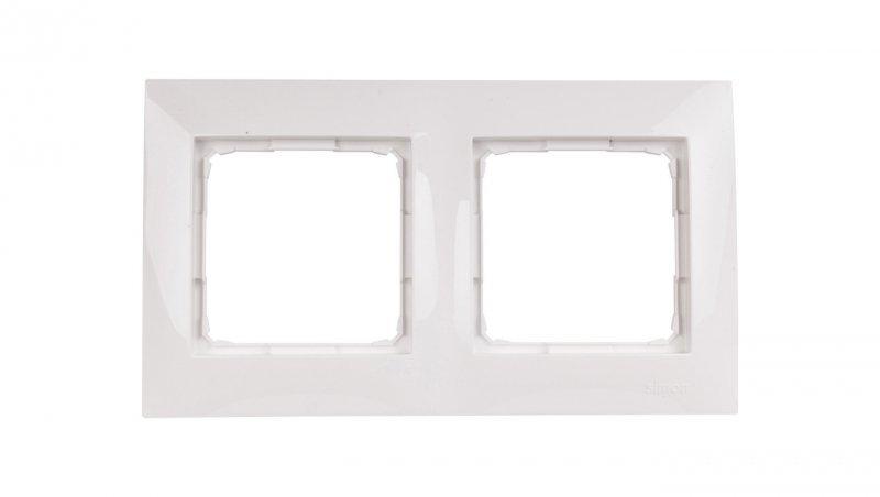 Kontakt Simon 54 Premium Ramka podwójna biała /do karton-gips/ DRK2/11
