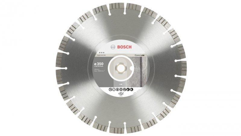 Tarcza tnąca diamentowa Best for CONCRETE fi 450/25,4mm 2608602660