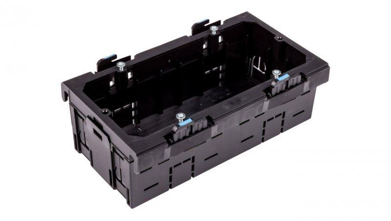 HAGER Puszka instalacyjna podwójna montaż frontalny G2860