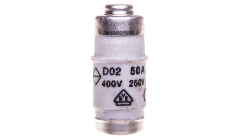 HAGER Wkładka bezpiecznikowa BiWtz 50A D02 gG 400V LE1850