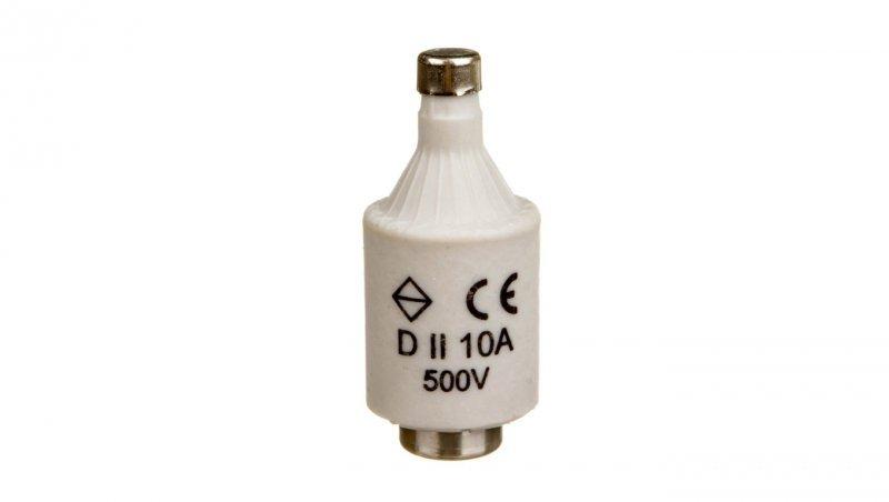 HAGER Wkładka bezpiecznikowa 10A DII gF 500V LE27F10