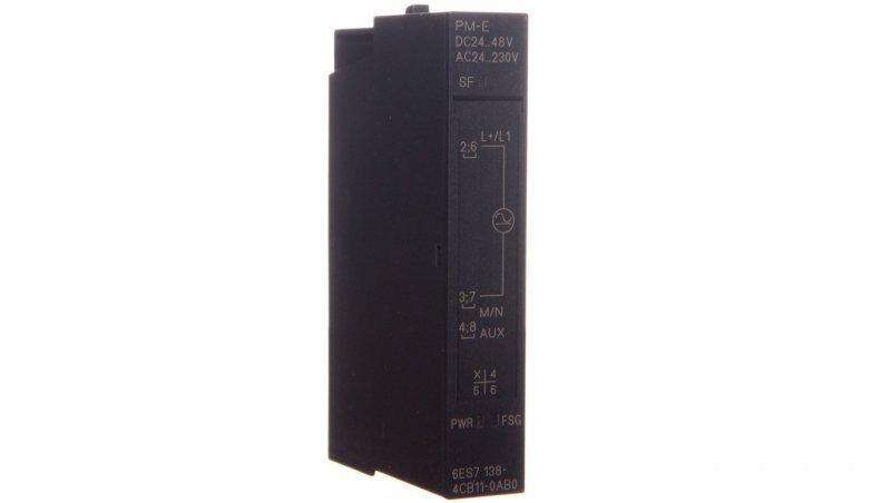 Moduł zasilania 24-48V DC, 24-230V AC ET200S 6ES7138-4CB11-0AB0