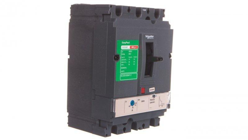 Wyłącznik mocy 40A 3P 36kA EasyPact CVS100 TM40D LV510333