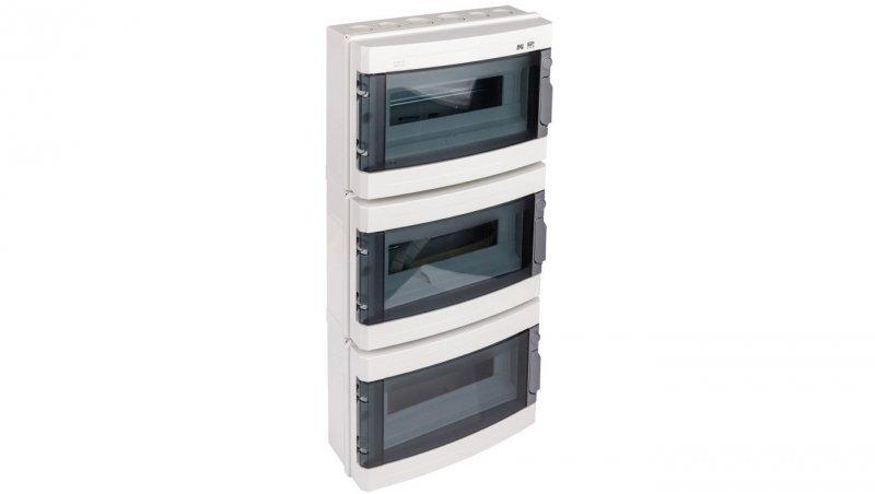Rozdzielnica modułowa hermetyczna 3x12 natynkowa IP65 EP-LUX PLUS RN 3/36 1958-01