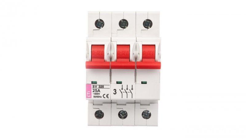 Rozłącznik modułowy 25A 3P 400V SV325 002423322