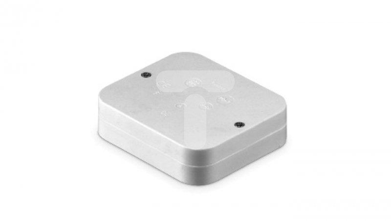 Puszka hermetyczna pusta 90x80x24 IP20 biała POT/p
