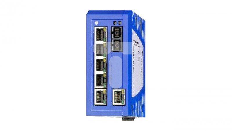 Switch przemysłowy SPIDER III 6x10/100 Mbit/s RJ45 1x100 Mbit/s MM SC H-942 132-010