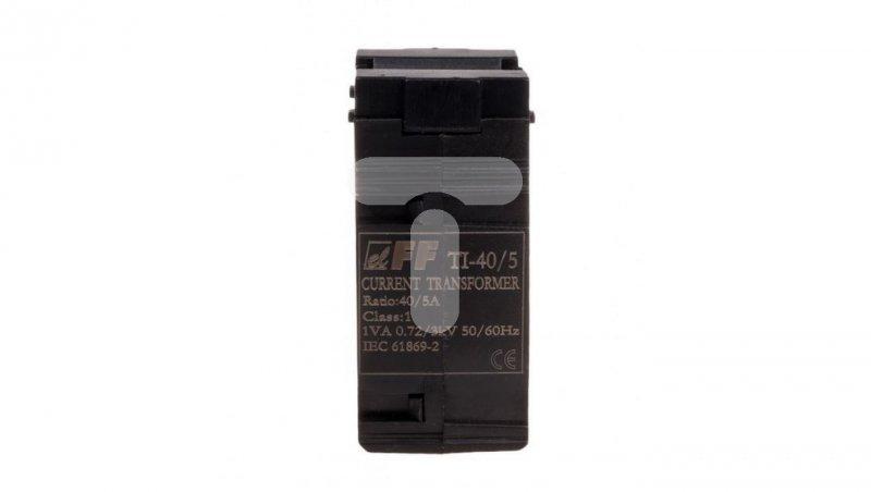 Przekładnik prądowy TI-40/5 kl.0,5 1VA 87,5x104 TI-40-5