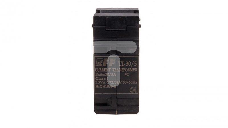 Przekładnik prądowy 1VA kl.0,5 na kabel i szynę fi22+30/25/20x10mm TI-30-5