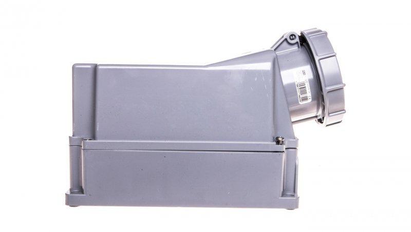 Gniazdo stałe 125A 5P 500V czarne IP67 POWER TWIST 145-7