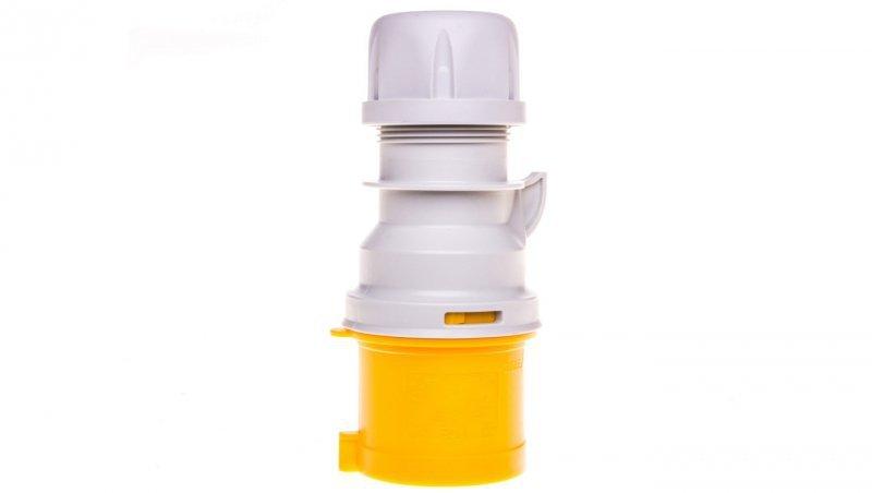 Wtyczka przenośna 32A 3P 110V żółta IP44 SHARK 023-4