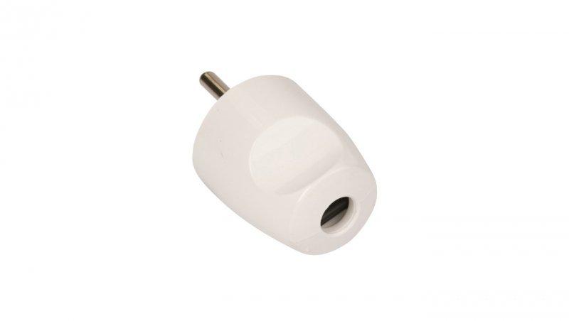 SCHNEIDER Wtyczka bez uziemienia 16A W-121 biała W12101