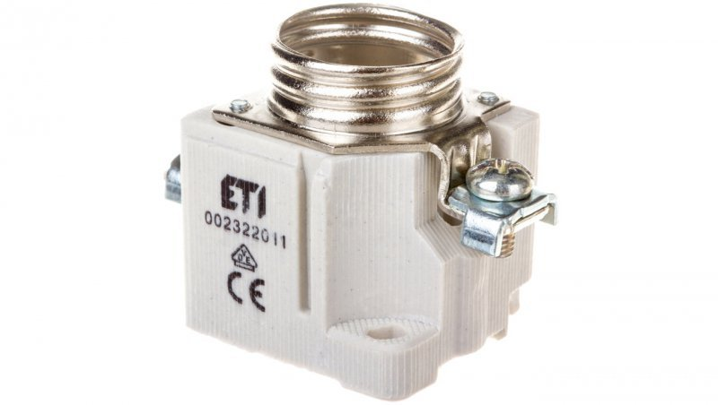 Gniazdo bezpiecznikowe tablicowe 1P E27 DII 25A 500V EZV 25 002322011