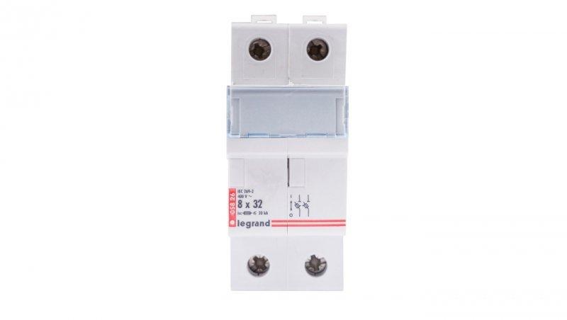 Legrand Rozłącznik bezpiecznikowy cylindryczny 2P 8,5x31,5mm RB326 005826
