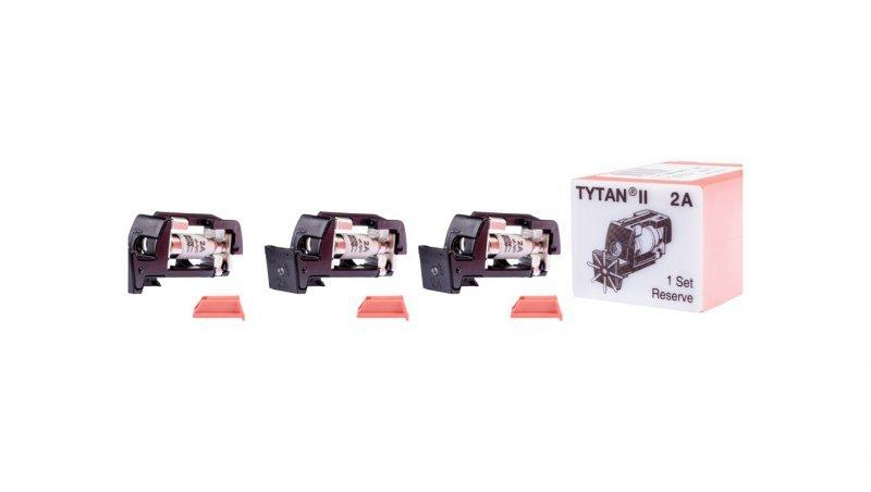 EATON Wtyk bezpiecznikowy D01/gG/2A/400V Z-SLS/B-2A z sygnalizacją 268984 (3szt.)