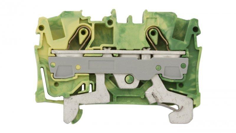 Złączka szynowa ochronna 6mm2 żółto-zielona 2006-1207 TOPJOBS