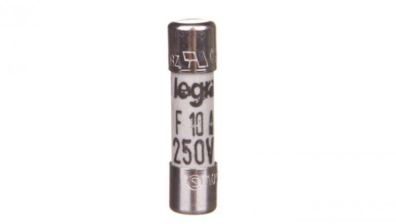 Legrand Wkładka bezpiecznikowa cylindryczna 5x20mm 10A F 250V 010296
