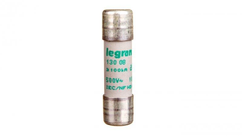 Legrand Wkładka bezpiecznikowa cylindryczna 10x38mm 8A aM 500V HPC 013008