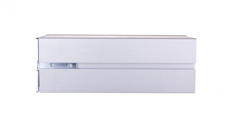 KONTAKT Simon Connect Minikolumna ALK dwustronna 8xK45 anodyzowane aluminium ALK224/8