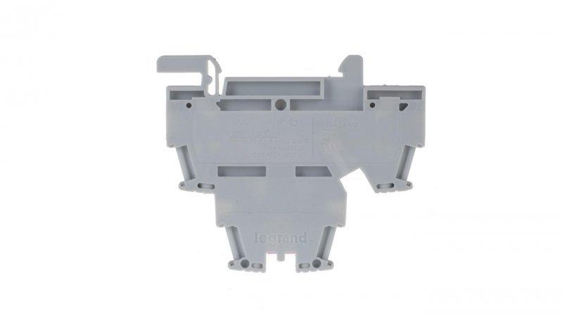 Legrand Złączka szynowa 2-piętrowa 2,5mm2 szara VIKING 037167