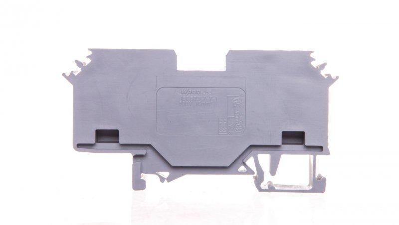 Złączka szynowa 2-przewodowa 16mm2 szara 283-601