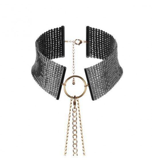 Bijoux Indiscrets - Désir Métallique Collar (czarna)