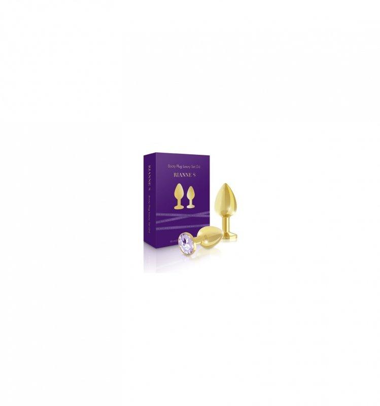 Rianne S - Booty Plug Luxury Set 2x Gold