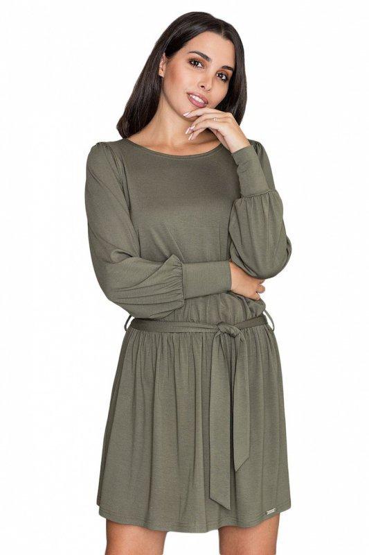 Sukienka Model M576 Oliwka - Figl