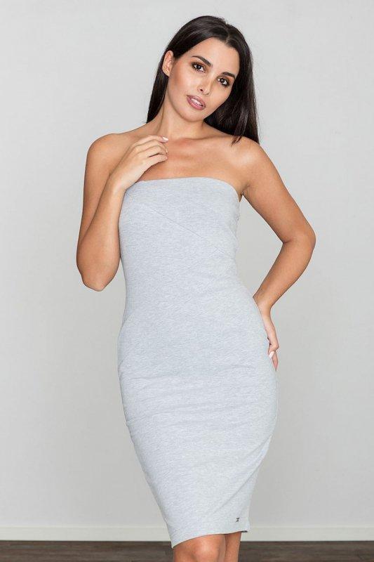 Sukienka Model M575 Grey - Figl