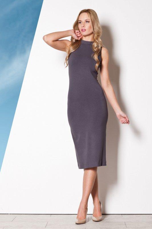 Sukienka Model 263 Grey - Figl